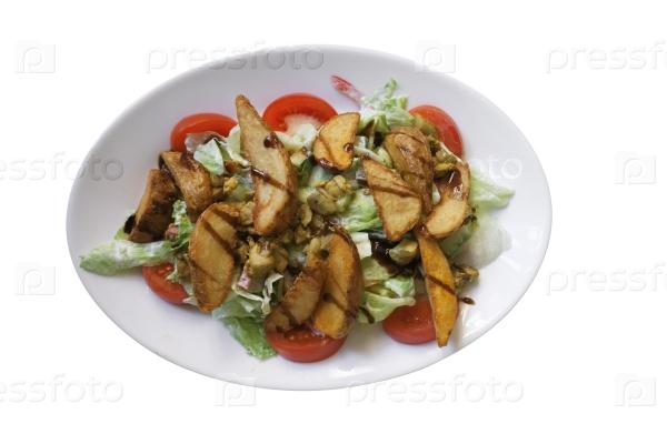 Салат с картофелем