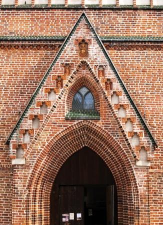Развалины собора Тарту