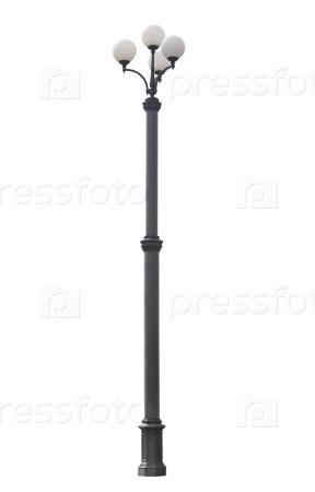 Уличный фонарный столб