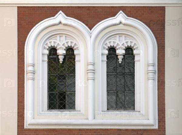Окно православной церкви