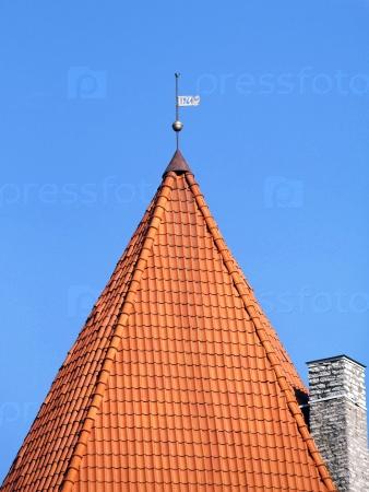 Крыша старой башни