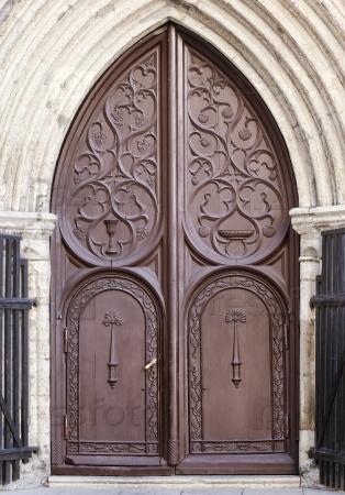 Старые средневековые ворота