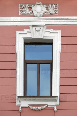 Окно старого здания, Санкт-Петербург