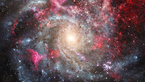Вселенная, галактика. Космический фон