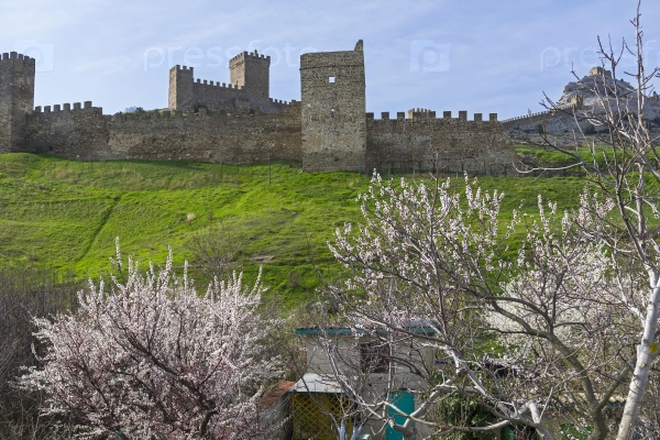 Генуэзская крепость в Судаке, Крым